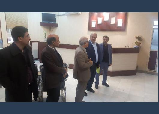 بازدید مدیران شرکت برق منطقه ای خراسان از شرکت پیمان خطوط شرق