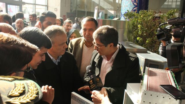 رونمایی از محصول بومی شده PKS باحضور شهردار محترم مشهد