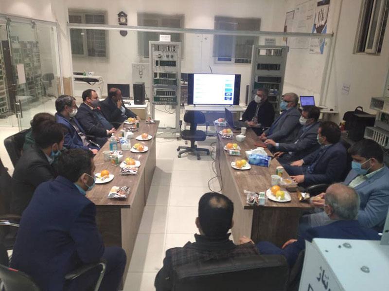 بازدید آقای حمیدالله یلانی ریاست عمومی شرکت آبرسانی و کانالیزاسیون شهری افغانستان