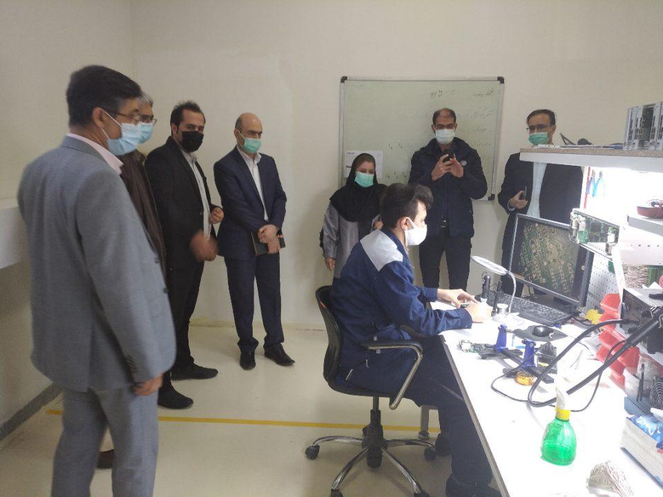 جلسه مشترکی که فیمابین مدیران شرکت موننکو ایران و شرکت پیمان خطوط شرق
