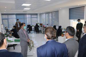 مراسم رونمایی از PKS-RTU520 با حضور مدیریت محترم شرکت پالایش گاز شهید هاشمی نژاد