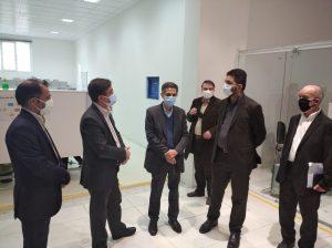 بازدید معاون مهندسی ، پژوهشی و فناوری وزیر نفت و هیئت همراه از شرکت دانش بنیان پیمان خطوط شرق